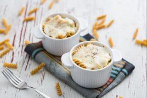 Pasta gratinata con finocchi e besciamella