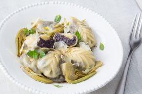 Ricetta Culurgiones di patate viola