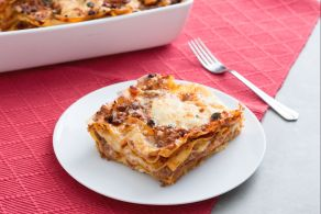 Ricetta Lasagne con ragù di salsiccia