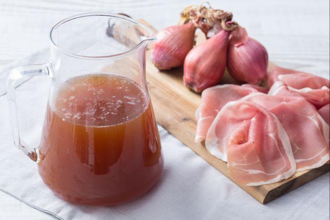 Ricetta Brodo di prosciutto crudo