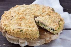 Ricetta Sbriciolata salata di zucchine