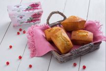 Mini plumcake allo yogurt e mirtilli rossi