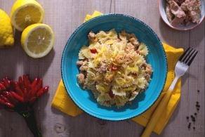 Pasta tonno e limone