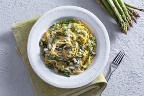 Ricetta Pasta panna e asparagi