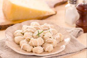 Ricetta Gnocchi con crema di asiago