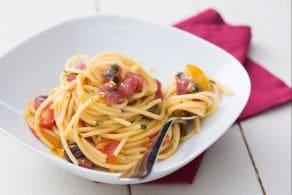 Ricetta Pasta con tonno fresco