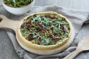 Ricetta Torta salata di rucola