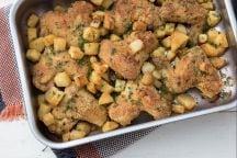 Ali di pollo e patate saporite