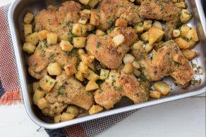 Ricetta Ali di pollo e patate saporite