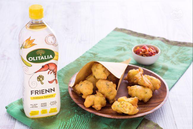 Frittelle di mais con chutney di pomodori