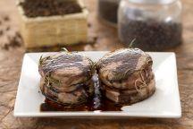 Medaglioni di filetto all'aceto balsamico