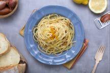 Spaghetti con la bottarga