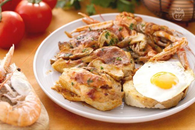 Ricetta pollo alla marengo la ricetta di giallozafferano - Cucina tipica piemontese torino ...
