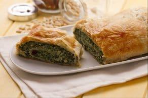Ricetta Strudel con ricotta e spinaci