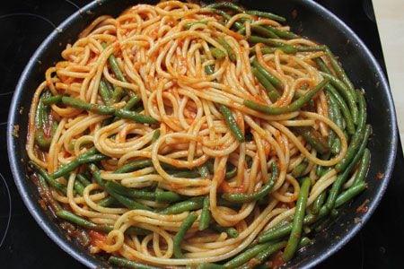 Pasta coi fagiolini