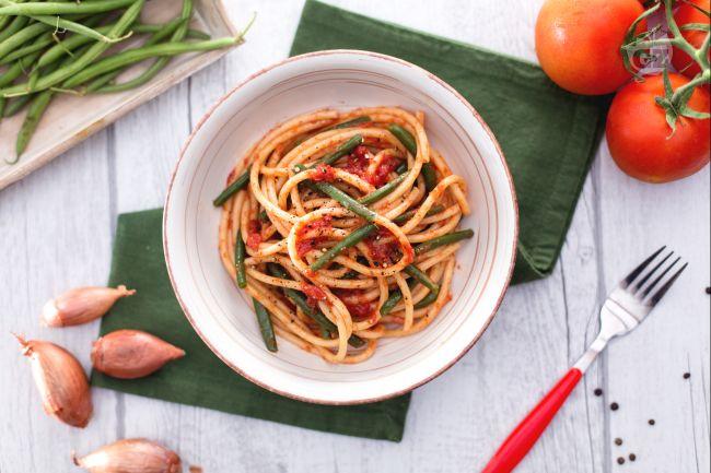 Ricetta pasta coi fagiolini la ricetta di giallozafferano for Barilla ricette