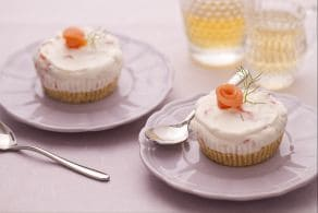 Ricetta Mini cheesecake al salmone
