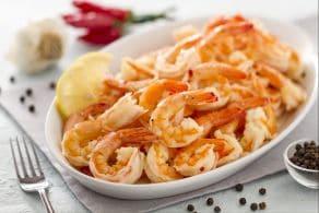 Ricetta Gamberi aglio e peperoncino