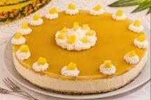 Cheesecake tropicale