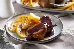 Ricetta Filetto di maiale con salsa al vino