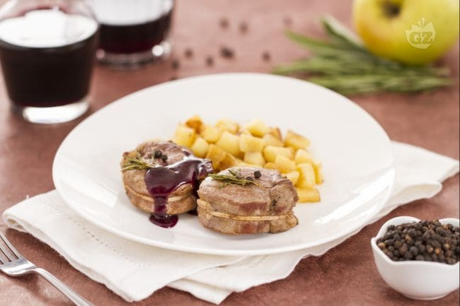 Filetto di maiale con salsa al vino