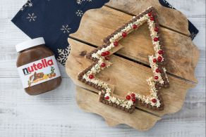 Ricetta Cream tart pan di zenzero e Nutella®