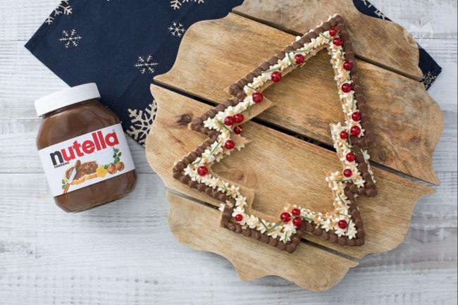 Cream tart pan di zenzero e Nutella®