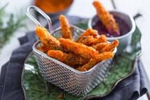 Bastoncini di carote fritte