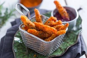 Ricetta Bastoncini di carote fritte