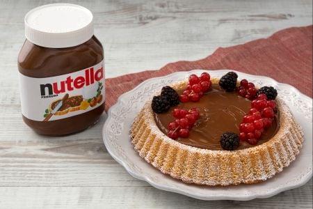 Crostata morbida con Nutella®