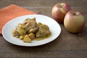 Ricetta Pollo al curry con mele