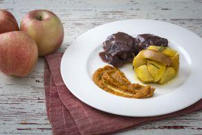 Ricetta Stracotto al Porto con mele al rosmarino