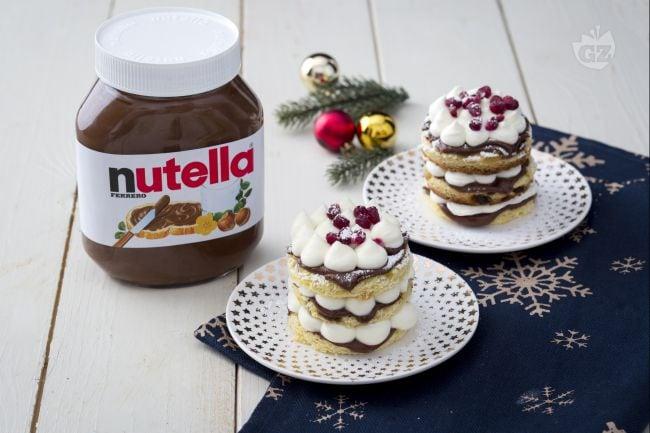 Tortine di panettone e Nutella®