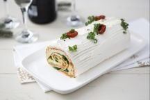 Tronchetto salato vegetariano