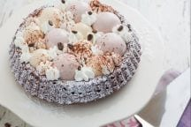 Crostata morbida al tiramisù