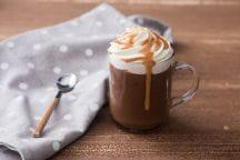 Cioccolata calda al caramello mou