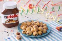 Bignole di Carnevale con Nutella®