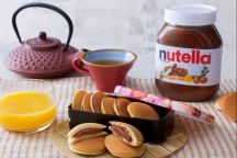 Mini dorayaki con Nutella®