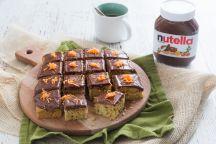 Carrot cake con Nutella®