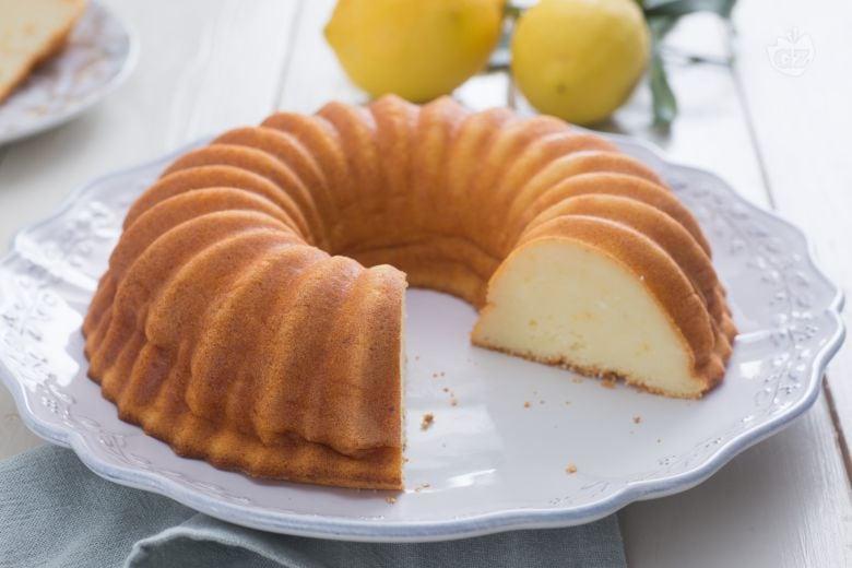 Ricotta infornata al limone