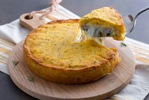 Ricetta Torta di patate e prosciutto