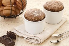Ricetta Soufflé al cioccolato