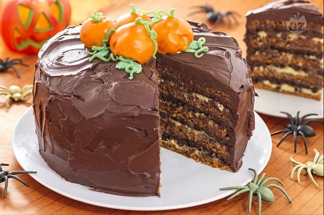 Ricetta torta a strati di halloween la ricetta di for Ricette dolci