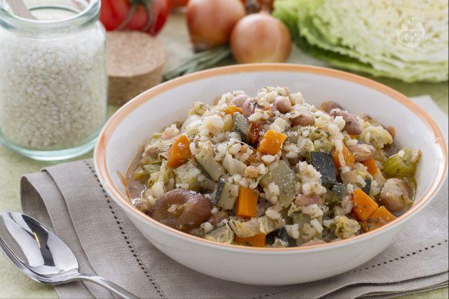 Ricetta minestrone alla milanese la ricetta di - Cucina giallo zafferano ...