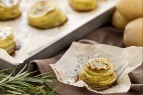 Ricetta Torrette di patate arrosto