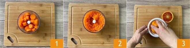 Torta di carote senza uova