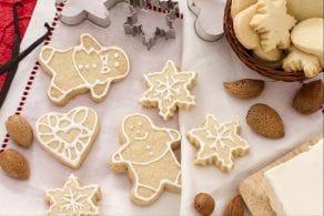Ricetta Biscottini di Natale alle mandorle