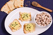 Sfoglie classiche con hummus