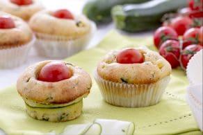 Ricetta Muffin salati con ricotta e zucchine