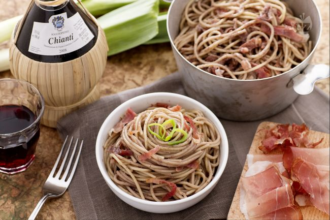 Spaghetti al Chianti